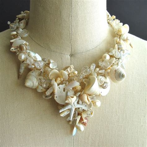 shells for jewelry she sells sea shells necklace back bay collection at 1stdibs