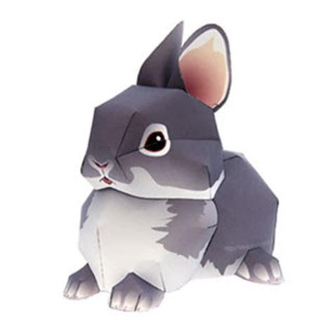 paper craft rabbit rabbit papercraft quot netherland quot paperkraft net