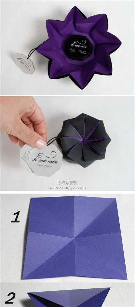 Diy Tutorial Diy Arts Crafts Diy Origami Flower Box