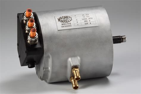 Electric Motor And Electric Generator by Electric Motor Generator Magneti Marelli