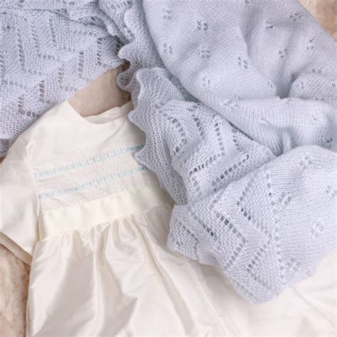 baby knitted shawl soft knit baby shawl by adore baby notonthehighstreet