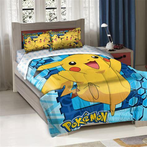 big pikachu bedding comforter set