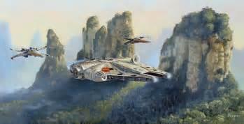 bob ross painting millennium falcon appreciation thread page 41 undead labs forums