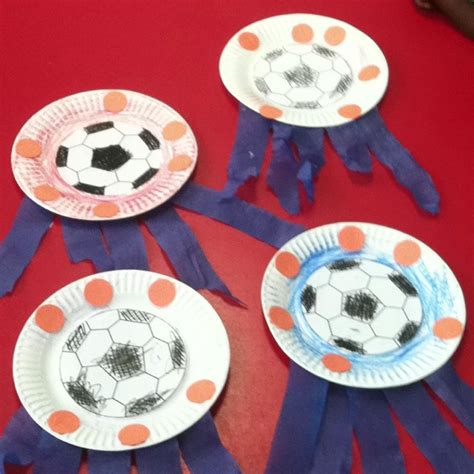 sports themed crafts for sports theme craft soccer noah
