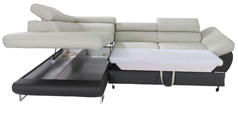 sofa sectional sleepers fabio sectional sofa sleeper with storage creative furniture