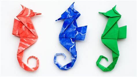 origami seahorse origami seahorse how to make an origami