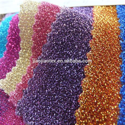 weft knitting weft knitted lurex fabric for 2015 new fashion dress buy