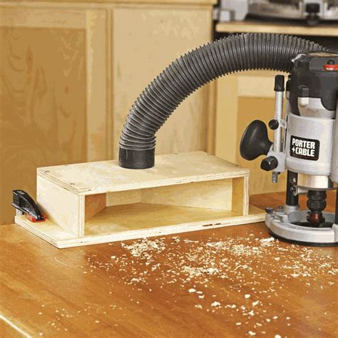 woodwork dust dual purpose dust chute woodworking plan from wood magazine