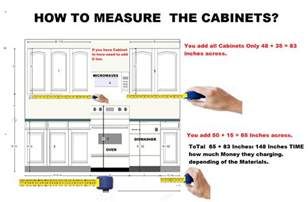 how to measure kitchen cabinets measuring kitchen cabinets how to measure and install