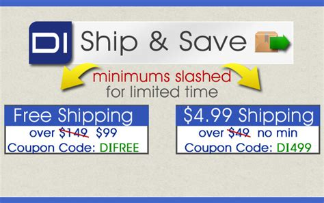 shipwreck coupon ship and save minimums slashed through the end of july