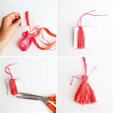 how to make tassels for jewelry how to make a tassel necklace pendant ohoh
