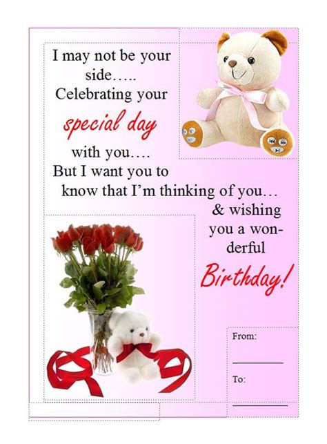 how to make a birthday card on microsoft word microsoft office templates birthday card template