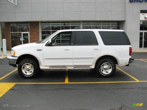 White Ford by 1998 Oxford White Ford Expedition Xlt 4x4 3796470