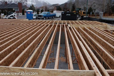 how to frame a floor framing floor new home icreatables