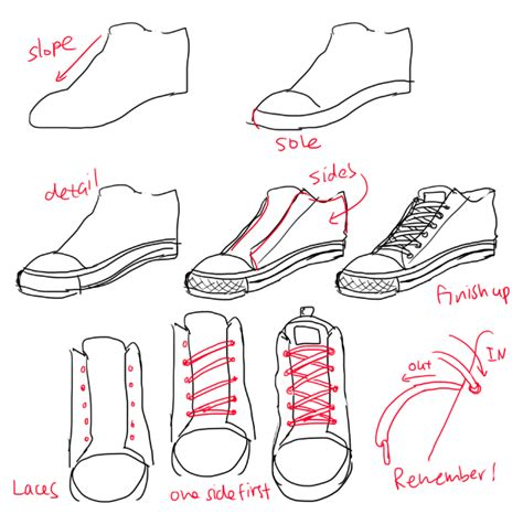 how to draw shoes almost as cool as you