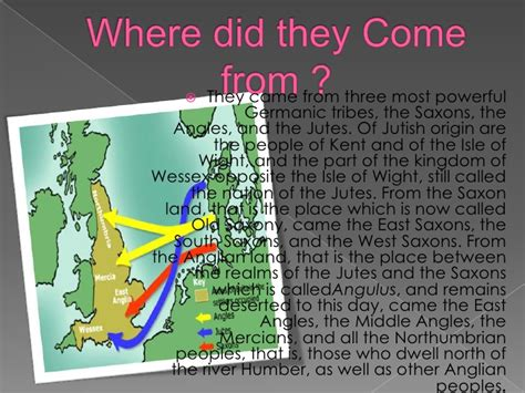 where do come from anglo saxons