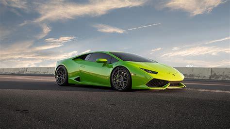 Car Wallpaper Green by Verde Mantis Green Lamborghini Huracan Lp610 4 Wallpaper