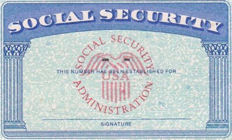 make social security card social security card template cyberuse