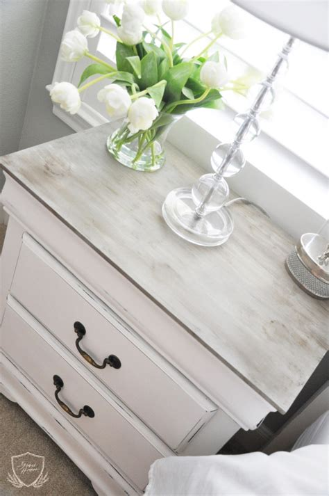 chalk paint wash tutorial nightstand chalk paint tutorial the grace house
