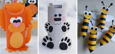 crafts you can make with toilet paper rolls diy animal craft ideas with toilet paper rolls home