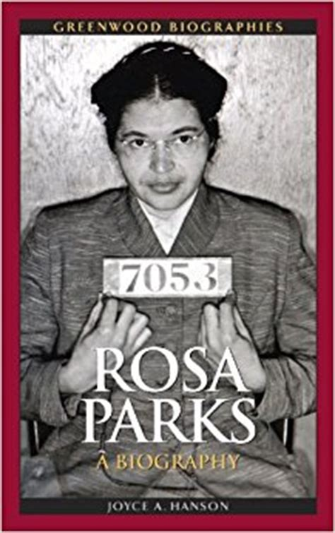 rosa parks picture book rosa parks a biography greenwood biographies joyce a