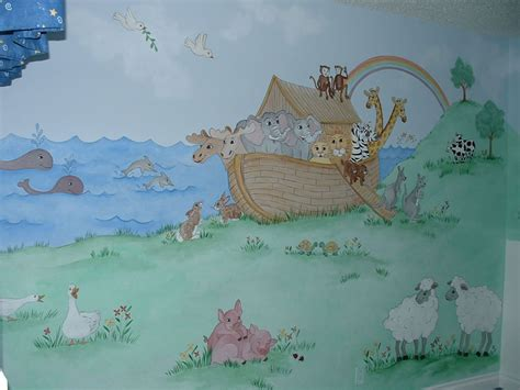 baby room wall murals by colette baby wall murals