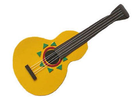 guitar crafts for foam mariachi guitar family crafts