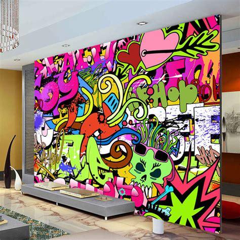 graffiti wall murals graffiti boys photo wallpaper custom wall mural