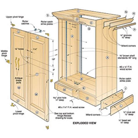 pdf woodworking tv cabinet plans woodworking woodplans