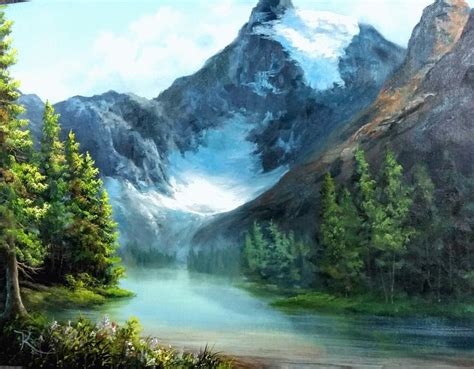 bob ross painting supplies canada take a vacation to the canadian glacier for more