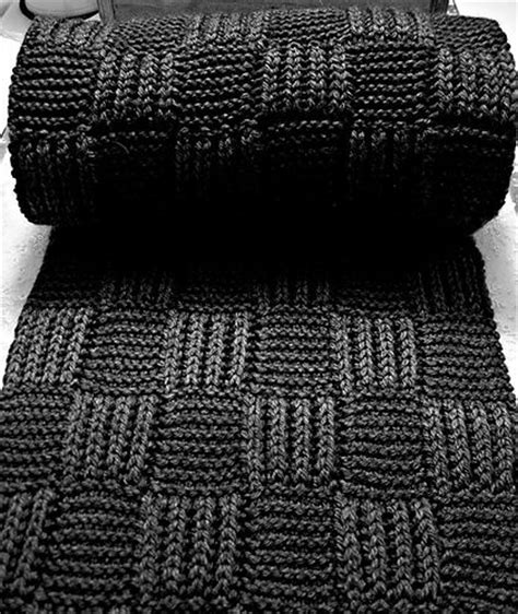 simple mens scarf knitting pattern scarfs brioche and scarf patterns on