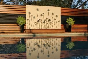 garden feature wall ideas outdoor feature walls ideas outdoor wall water feature