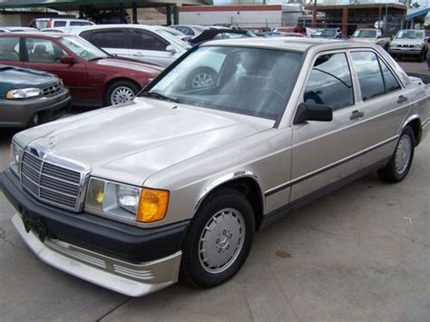 auto air conditioning service 1985 mercedes benz w201 user handbook sell used 1985 mercedes benz 190e two owner only 25562 miles arizona in scottsdale