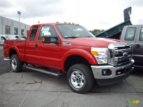 2011 Ford F250 by 2011 Vermillion Ford F250 Duty Xlt Supercab 4x4