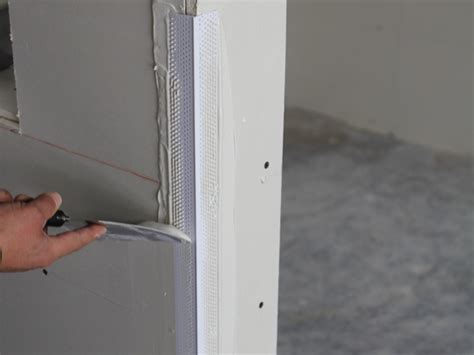 how to mud a corner bead mud set rigid low profile corner bead trim tex drywall