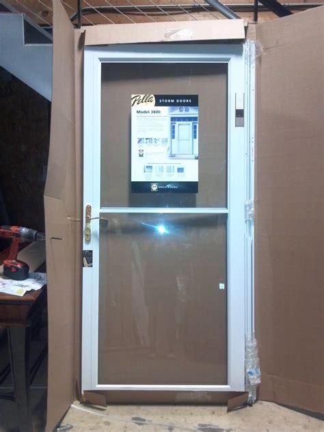 Pella Retractable Screen Door pella storm doors selections homesfeed