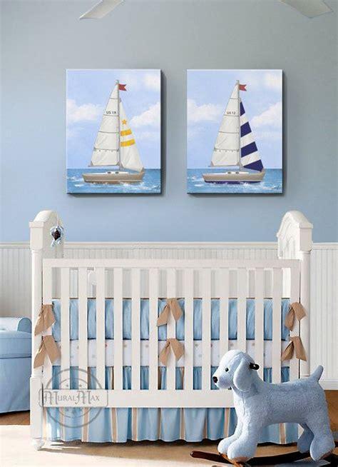 nautical decor nursery nursery baby nursery room decor nautical sailboat