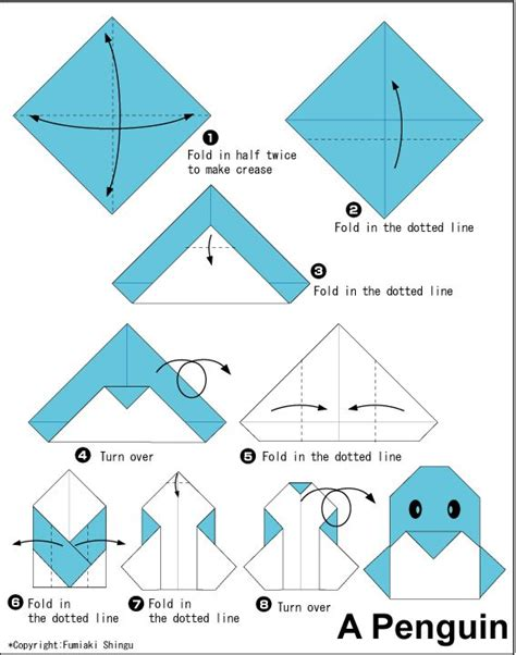 how to make origami things easy origami penguin easy kid friendly things for the