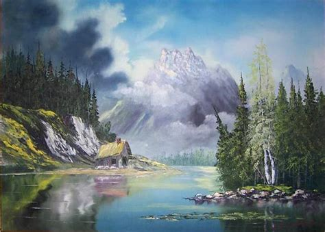 real bob ross paintings for sale bill painting for sale