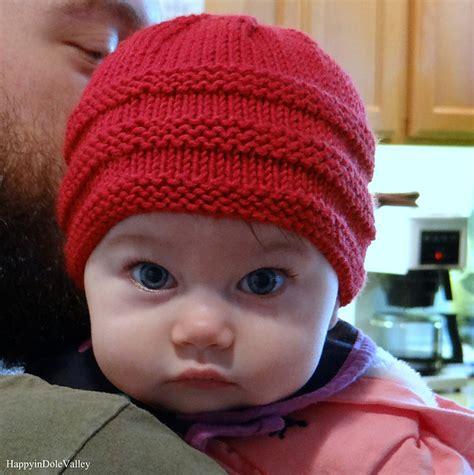 knitted baby beanie pattern free 1 2 3 knit baby beanie free pattern stylesidea