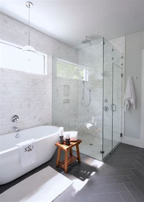 Really Small Bathroom Ideas gorgeous bathroom with full height marble subway tile