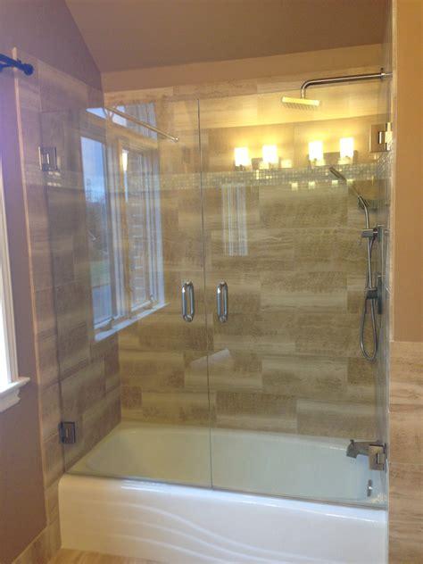 bathroom shower doors frameless awesome frameless shower doors options ideas