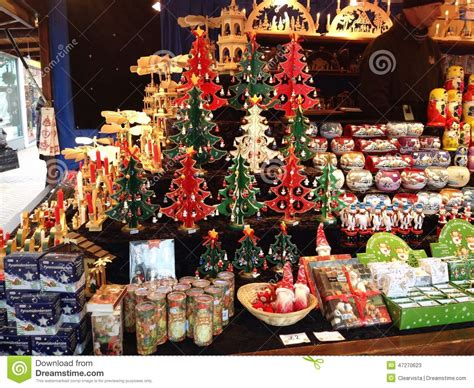 decorations sales decorations on sale in a market editorial stock