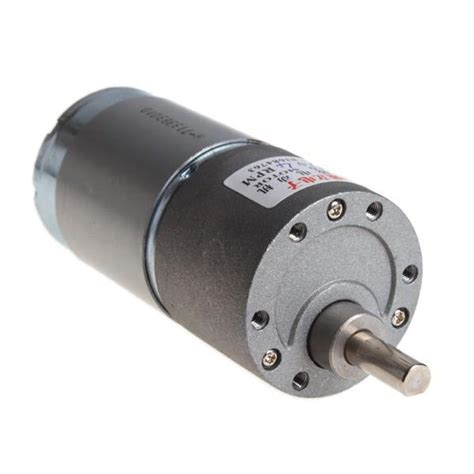 Electric Motor Torque by High Torque Electric Motor 4 Rpm 12v Dc Gear Box Motor 37mm