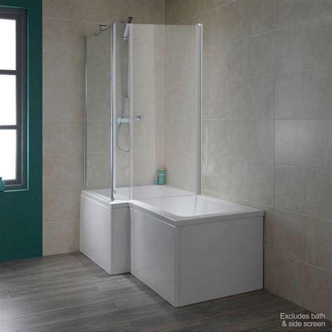 Over Bath Shower Enclosures 6mm over bath shower enclosure door for use with l shaped