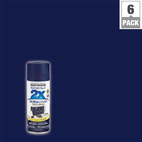 home depot spray paint blue rust oleum painter s touch 2x 12 oz midnight blue satin