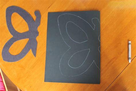butterfly construction paper craft tissue paper butterflies playdough to plato