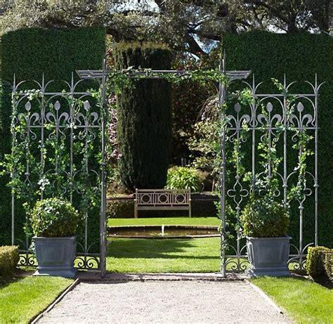 Garden Arch Home Hardware Wrought Iron Arbor Arch W Trellis Ceremony Arch
