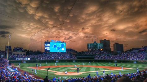 paint nite yorkton weather turned the sky wrigley field into a