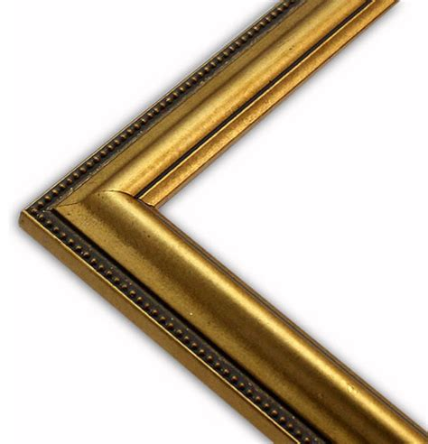 beaded picture frames gold beaded edge picture frame solid wood 5x5
